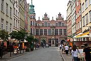 Gdańsk, 2008-06-22. Stare Miasto w Gdańsku - renesansowa zbrojownia.