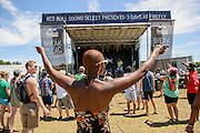 Attendees at the Red Bull Sound Select stage at the Firefly Music Festival in Dover, DE on June 20, 2014.