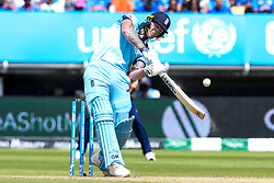 Ben Stokes of England goes on the attack - Mandatory by-line: Robbie Stephenson/JMP - 30/06/2019 - CRICKET - Edgbaston - Birmingham, England - England v India - ICC Cricket World Cup 2019 - Group Stage