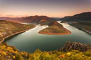 Meander of Kardzhali Lake