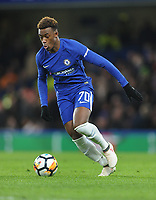 Football - 2017 / 2018 FA Cup - Fifth Round: Chelsea vs. Hull City<br /> <br /> Callum Hudson - Odoi of Chelsea, at Stamford Bridge.<br /> <br /> COLORSPORT/ANDREW COWIE