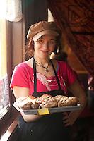 Portrait of baker in Eureka, CA.