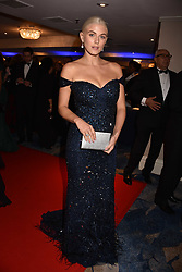 Ashley James at the Chain of Hope Gala Ball held at the Grosvenor House Hotel, Park Lane, London England. 17 November 2017.<br /> Photo by Dominic O'Neill/SilverHub 0203 174 1069 sales@silverhubmedia.com