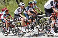 Tom Dumoulin (NED - Team Sunweb) - Fabio Aru (ITA - UAE Team Emirates) - Christopher Froome (GBR - Team Sky) during the 101th Tour of Italy, Giro d'Italia 2018, stage 6, Caltanissetta - Etna 163 km on May 10, 2018 in Italy - Photo Luca Bettini / BettiniPhoto / ProSportsImages / DPPI