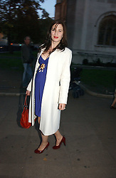 The HON.FLORA RYCROFT sister of Samantha Cameron at the wedding of Clementine Hambro to Orlando Fraser at St.Margarets Westminster Abbey, London on 3rd November 2006.<br /><br />NON EXCLUSIVE - WORLD RIGHTS