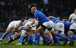March 9, 2019 - London, England, United Kingdom - Sergio Parisse of Italy .during the Guinness 6 Nations Rugby match between England and Italy at Twickenham  stadium in Twickenham  England on 9th March 2019. (Credit Image: © Action Foto Sport/NurPhoto via ZUMA Press)