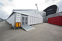 DEN HAAG - Promodorp opbouw voor WK Hockey. COPYRIGHT KOEN SUYK