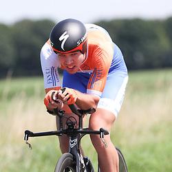 EMMEN (NED wielrennen <br /> Tijdrit Topcompetitie Emmen <br /> Wiebe Scholten