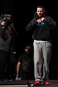 DALLAS, TX - MARCH 13:  Matt Brown walks to the scale during the UFC 185 weigh-ins at the Kay Bailey Hutchison Convention Center on March 13, 2015 in Dallas, Texas. (Photo by Cooper Neill/Zuffa LLC/Zuffa LLC via Getty Images) *** Local Caption *** Matt Brown