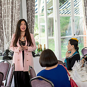 Mei sim and TVE hosts at Charity Glof day at golf Day at RAC club, Epsom on 2021-09-21