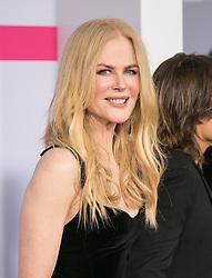 November 19, 2017 - Los Angeles, California, U.S - Nicole Kidman on the Red Carpet of the 2017 American Music Awards held on Sunday, November 19, 2017 at the Microsoft Theatre in Los Angeles, California. (Credit Image: © Prensa Internacional via ZUMA Wire)