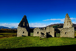 Ruthven Barracks, near Ruthven in Badenoch, Scotland, are the smallest but best preserved of the four barracks built in 1719 after the 1715 Jacobite rising.<br /> <br /> (c) Andrew Wilson | Edinburgh Elite media