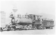 """RGS 2-8-0 #15 switching in Dolores.<br /> RGS  Dolores, CO  <br /> In book """"Rio Grande Southern, The: An Ultimate Pictorial Study"""" page 182"""