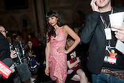 JAMEELA JAMIL; ,  VIVIENNE WESTWOOD RED LABEL FASHION SHOW, Royal Courts of Justice. The Strand. London. 21 February 2010