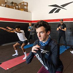 Reebok Boston Track Club<br /> home base training<br /> Ben Flanagan