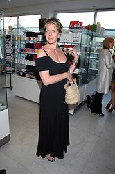 FIONA GOLFAR wife of Robert Fox at a reception hosted by Vogue magazine to launch photographer Tim Walker's book 'Pictures' sponsored by Nude, held at The Design Museum, Shad Thames, London SE1 on 8th May 2008.<br /><br />NON EXCLUSIVE - WORLD RIGHTS