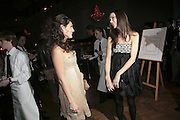 KELLY BROOK AND GEORGINA CHAPMAN, 6th Annual Lanc»me Colour Designs Awards In association with CLIC Sargent Cancer Care.  Lindley Hall, Vincent Sq. London. 28 November 2006.  ONE TIME USE ONLY - DO NOT ARCHIVE  © Copyright Photograph by Dafydd Jones 248 Clapham Rd. London SW9 0PZ Tel 020 7733 0108 www.dafjones.com