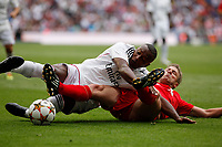 Real Madrid´s Congo during 2015 Corazon Classic Match between Real Madrid Leyendas and Liverpool Legends at Santiago Bernabeu stadium in Madrid, Spain. June 14, 2015. (ALTERPHOTOS/Victor Blanco)