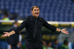 August 20, 2017 - Rome, Italy - Leonardo Semplici Manager of Spal during the Serie A match between SS Lazio and Spal at Olimpico Stadium on August 20, 2017 in Rome, Italy. (Credit Image: © Matteo Ciambelli/NurPhoto via ZUMA Press)