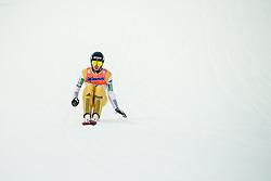January 19, 2018 - Oberstdorf, GERMANY - 180119 Anze Semenic of Slovenia competes in the individual competition during the FIS Ski Flying World Championships on January 19, 2018 in Oberstdorf..Photo: Vegard Wivestad GrÂ¿tt / BILDBYRN / kod VG / 170079 (Credit Image: © Vegard Wivestad Gr¯Tt/Bildbyran via ZUMA Wire)