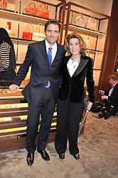 JAMES FERRAGAMO and AMANDA FERRAGAMO at the Salvatore Ferragamo Old Bond Street Boutique Store Launch on 5th December 2012.
