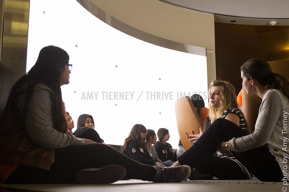 Mara Hitner and Step Up girls