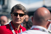 January 30-31, 2016: Daytona 24 hour: Stephan Winkelmann, CEO of Lamborghini