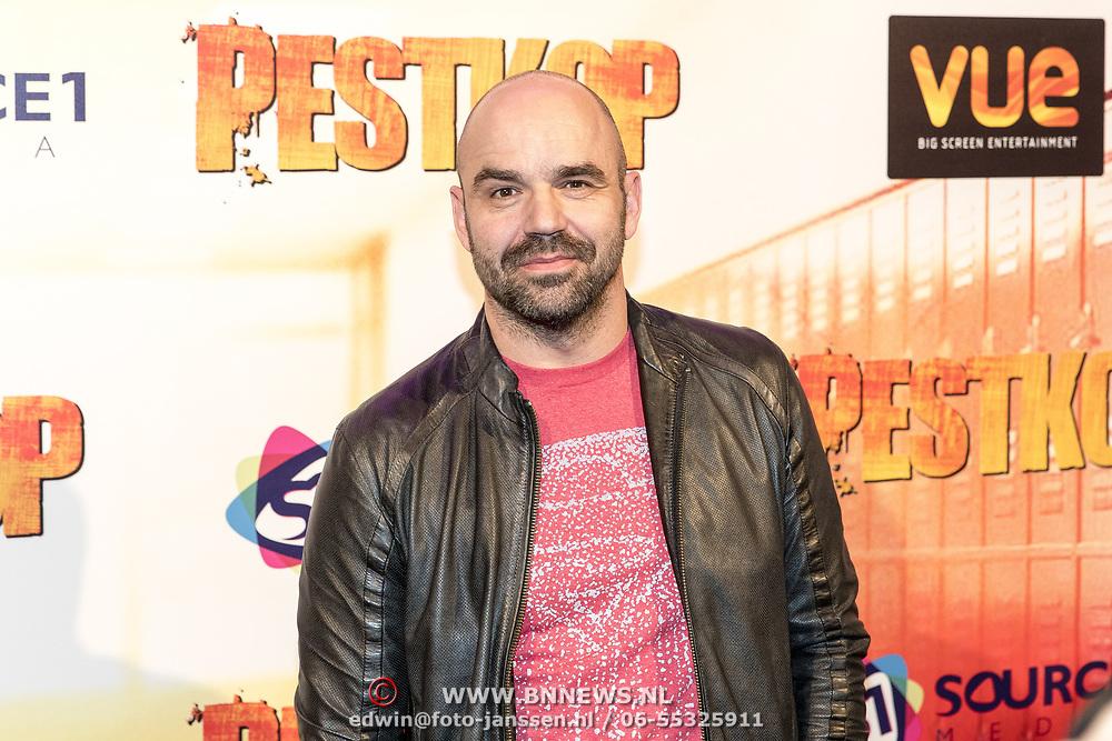NLD/Hilversum/20171019 - Film premiere  Pestkop, Peter Post