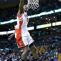 13 March 2013: Toronto Raptors shooting guard Terrence Ross (31) dunks the ball during the Boston Celtics 112-88 victory over the Toronto Raptors at the TD Garden, Boston, Massachusetts, USA.