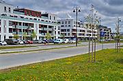 Warszawa, miasteczko Wilanów.<br /> Warsaw, the town of Wilanów.