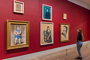 The Picasso Family Portrait (restaged) - The EY Exhibition: Picasso 1932 – Love, Fame, Tragedy a new exhibition at the Tate Modern.  It brings together over 100 works made by Pablo Picasso (1881–1973) during 1932, one of the most intensely creative periods in his life.