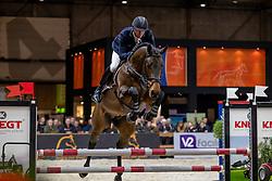 Vrieling Jur, NED, Kordon VDL<br /> KWPN hengstenkeuring - 's Hertogenbosch 2020<br /> © Hippo Foto - Dirk Caremans<br /> 30/01/2020