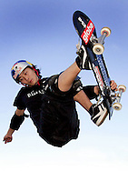 PERTH, AUSTRALIA - OCTOBER 07:  Jocke Olsson of Sweden in action during the skate demonstration event at the Gravity Games held at McCallum Park  October 7, 2005 in Perth, Australia.  (Photo by Paul Kane/Getty Images) *** Local Caption *** Jocke Olsson