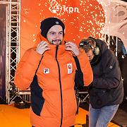 NLD/Amsterdam/20180226 - Thuiskomst TeamNL, Itzhak de Laat