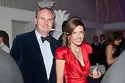 ZOE APPLEYARD; WILLIAM CASH, Grey Goose Winter Ball to benefit the Elton John Aids Foundation. Battersea Power Station. London. 10 November 2012.