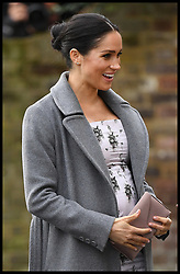 December 18, 2018 - London, London, United Kingdom - The Duchess of Sussex at Brinsworth House. Meghan, The Duchess of Sussex visits  Brinsworth House, Twickenham. (Credit Image: © Andrew Parsons/i-Images via ZUMA Press)