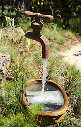 Floating Tap during the Cape Town Flower Show held at the Castle of Good Hope between the 27th and the 30th October 2016.<br /> <br /> Photo by Ron Gaunt/ RealTime Images
