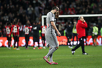 Deception Andre Pierre GIGNAC - 23.01.2015 - Nice / Marseille - 22eme journee de Ligue 1<br />Photo : Jean Christophe Magnenet / Icon Sport