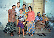 "Meeting a friendly Turkish family in Amasya, Central Turkey. Published in ""Light Travel: Photography on the Go"" book by Tom Dempsey 2009, 2010. For licensing options, please inquire."