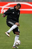 20120213: BRAGA, PORTUGAL - Sidnei at the Besiktas JK training session before UEFA Europe League match against SC Braga.<br /> PHOTO: CITYFILES