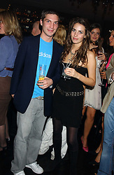 WILLIAM AITKEN and MARINA HANBURY at a party to celebrate the publication of Tatler's Little Black Book 2005 held at the Baglioni Hotel, 60 Hyde Park Gate, London SW7 on 9th November 2005.<br /><br />NON EXCLUSIVE - WORLD RIGHTS