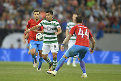 August 23, 2017 - Bucharest, Romania - Marcos Acuna, Sporting, in action  during the UEFA Champions League play-offs 2nd leg football match between FC Steaua Bucharest and Sporting Lisbon at the National Arena Stadium, in Bucharest, Romania on August 23, 2017. (Credit Image: © Alex Nicodim/NurPhoto via ZUMA Press)