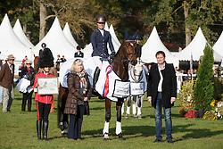 Blom Merel, (NED), The Quizmaster<br /> Horses 6 years of age<br /> Mondial du Lion - Le Lion d'Angers 2015<br /> © Dirk Caremans<br /> 18/10/15