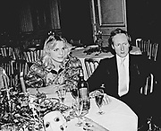 Andrea von Stumm and Algy Cluff. Private Eye anniversary party. Reform Club. London. 1982.  *** Local Caption *** -DO NOT ARCHIVE-© Copyright Photograph by Dafydd Jones. 248 Clapham Rd. London SW9 0PZ. Tel 0207 820 0771. www.dafjones.com.