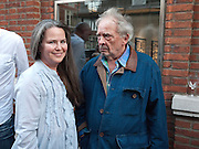 KOO STARK; DAVID BAILEY, DAVID BAILEY: THEN.-private view of an exhibition of photographs. Hamiltons. London. 6 July 2010. -DO NOT ARCHIVE-© Copyright Photograph by Dafydd Jones. 248 Clapham Rd. London SW9 0PZ. Tel 0207 820 0771. www.dafjones.com.