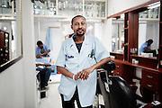 Barbiere, Addis Ababa 19 settembre 2014.  Christian Mantuano / OneShot