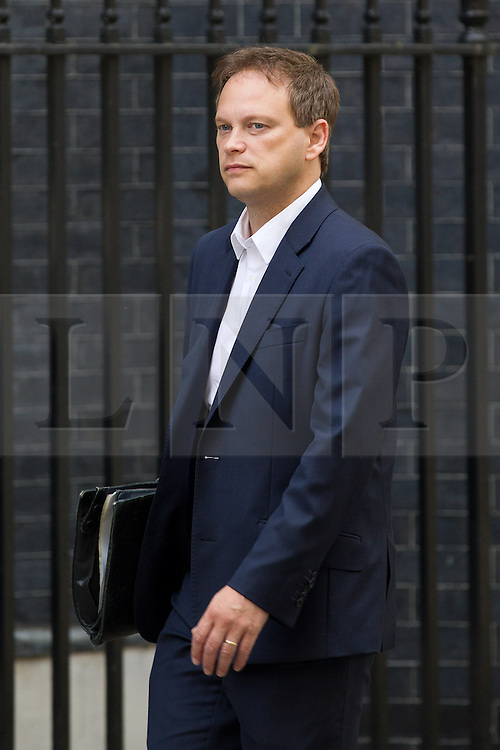 © Licensed to London News Pictures. 16/07/2013. London, UK. As the House of Commons prepares for its summer recess the British Conservative Chairman, Grant Shapps, is seen on Downing Street in London today (16/07/2013). Photo credit: Matt Cetti-Roberts/LNP