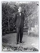 portrait of young adult man Paris 1900s