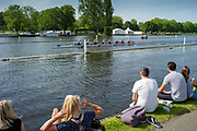 Henley on Thames, England, United Kingdom, 28th June 2019, Henley Royal Regatta Qualifiers, time trial, on Henley Reach, [© Peter SPURRIER/Intersport Image]<br /> <br /> 14:55:36