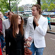 NLD/Amsterdam/20110731 - Premiere circus Hurricane met Hans Klok, Raoul van der Heijden en partner